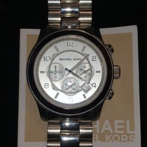New Michael Kors men's stainless steel watch